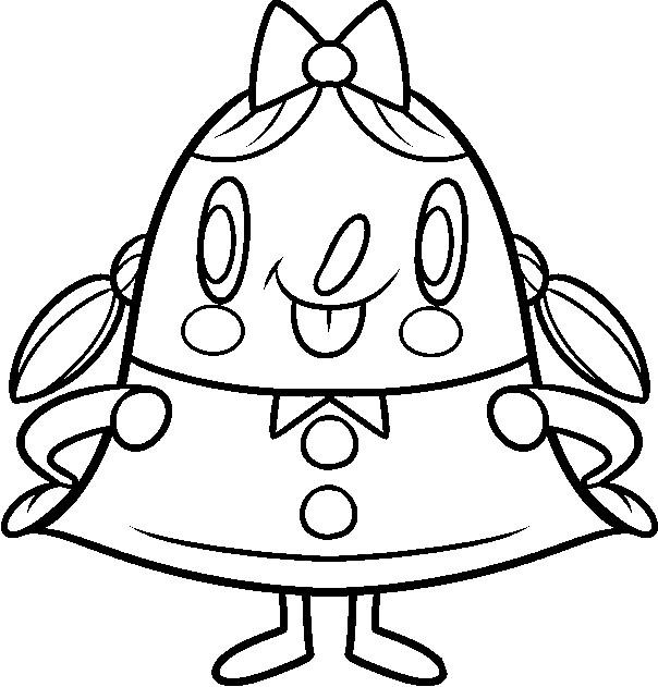 Dibujo Para Colorear Candy Crush Saga 1
