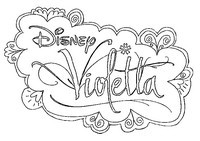 Målarbok Violetta