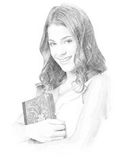 Dibujo para colorear Violetta