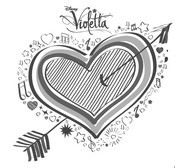 Coloring Pages Violetta Drawing