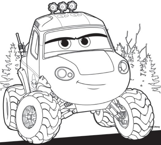 Coloring Pages Planes 2 Fire and Rescue Drawing