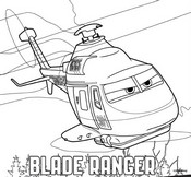 Coloring page Blade Ranger