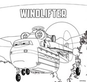 Coloring page Windlifter