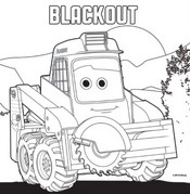 Coloring page Blackout