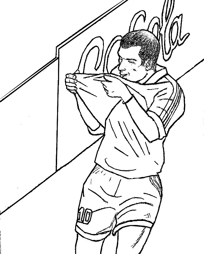 Coloring Pages French national soccer team Drawing