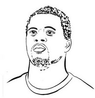 Coloring page Patrice Evra