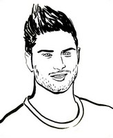 Coloring page Olivier Giroud