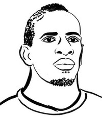 Coloring page Mamadou Sakho