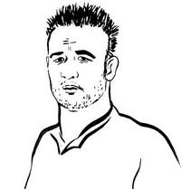 Dibujo para colorear Mathieu Valbuena