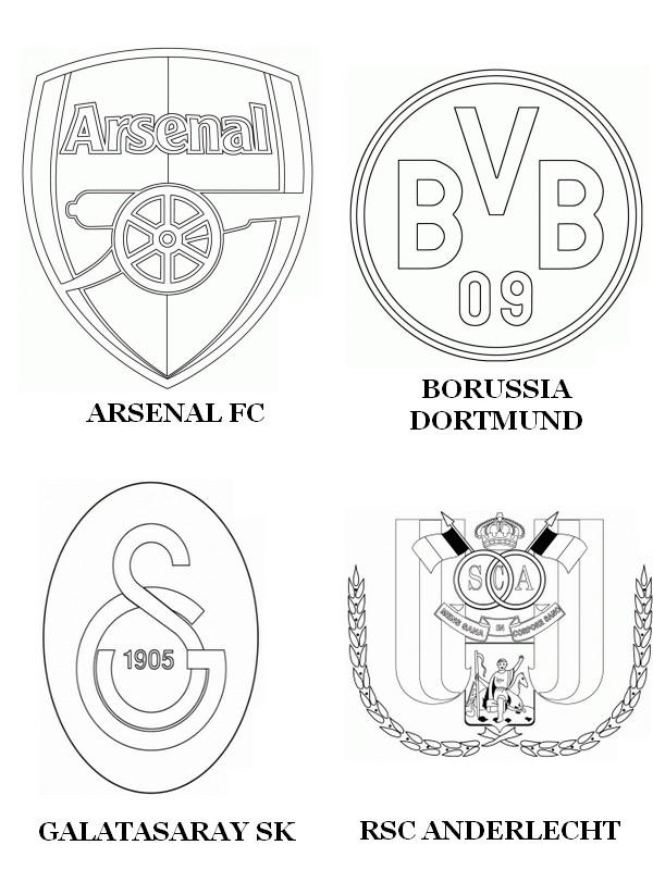 kleurplaten voetbal anderlecht