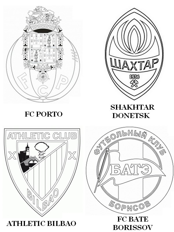 Coloring Pages For 2015 : Coloring pages uefa champions league 2015 drawing