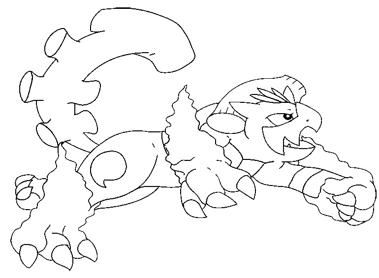Disegno da colorare Pokémon forma alternativa 645 Landorus