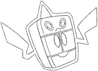 Malvorlagen Pokémon alternativ-form 479 Frost-Rotom