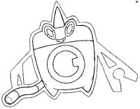 Malvorlagen Pokémon alternativ-form 479 Wasch-Rotom