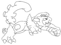 Dibujo para colorear Pokémon forma alternativa 645 Landorus