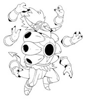 coloring page pokmon alternate form 720 hoopa unbound
