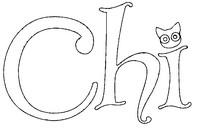 Desenho para colorir Chi's Sweet Home