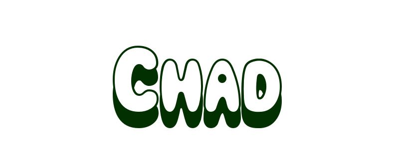 Coloring-Page-First-Name Chad