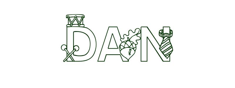 Coloring-Page-First-Name Dan