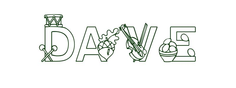 Coloring-Page-First-Name Dave