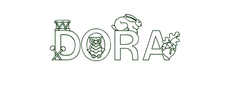 Coloring-Page-First-Name Dora