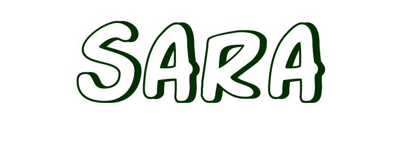 Image Gallery sara name