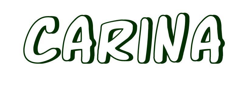Malvorlagen Vorname Carina
