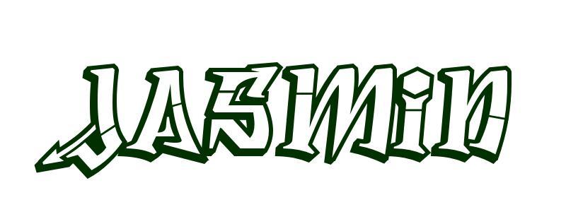 malvorlagen vorname jasmin