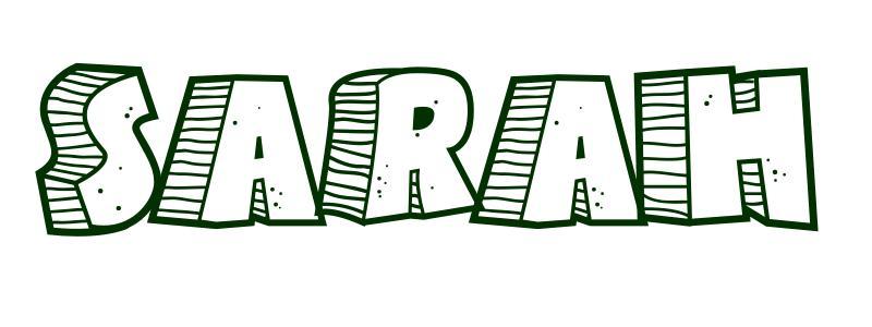 malvorlagen vorname sarah