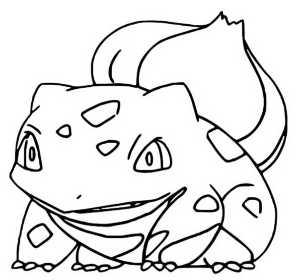Coloring Pages Pokemon Bulbasaur Drawings Pokemon
