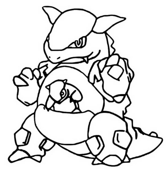 Coloring Pages Pokemon Kangaskhan Drawings Pokemon