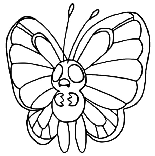 butter free coloring pages - photo#6