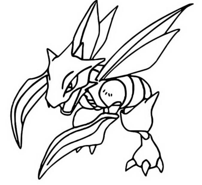 Malvorlagen Pokemon Sichlor Zeichnungen Pokemon
