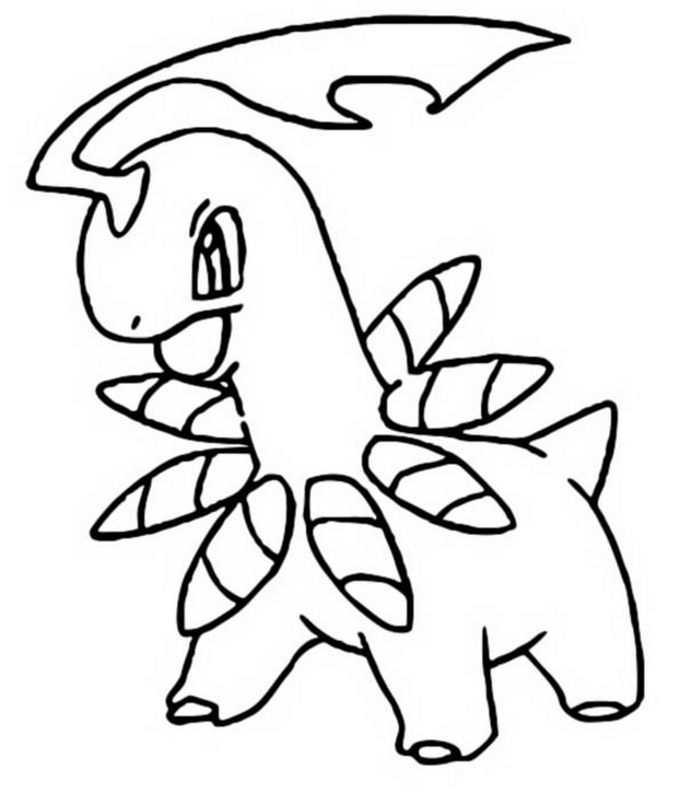 Coloring Pages Pokemon  Bayleef  Drawings Pokemon