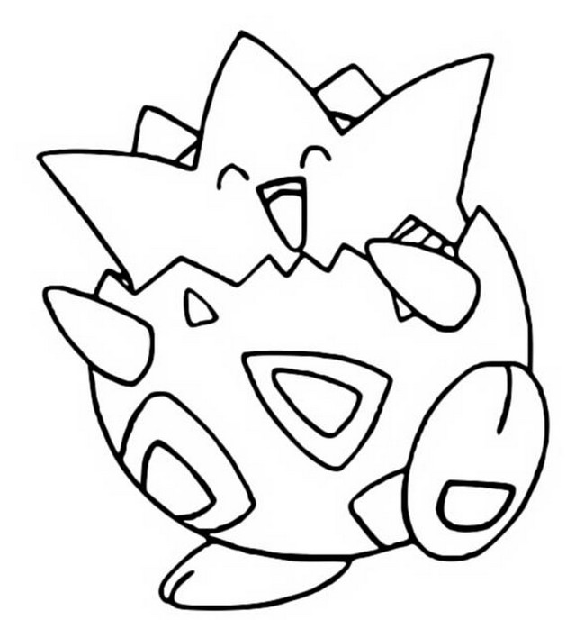togepi coloring pages - photo#5