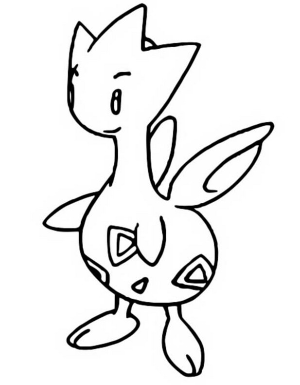 togepi coloring pages - photo#17