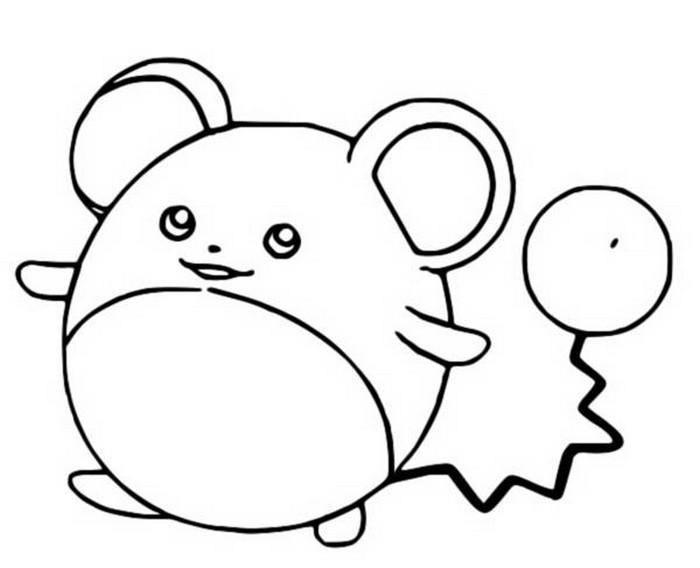 Malvorlagen Pokemon Marill Zeichnungen Pokemon