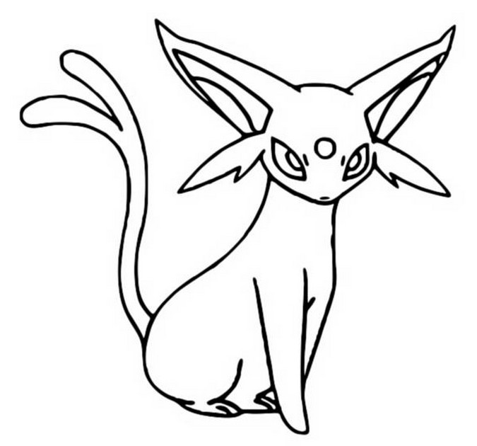 Espeon coloring pages murderthestout Torchic Coloring Pages Printable Pokemon Eevee Evolutions Coloring Pages New Pokemon Coloring Pages