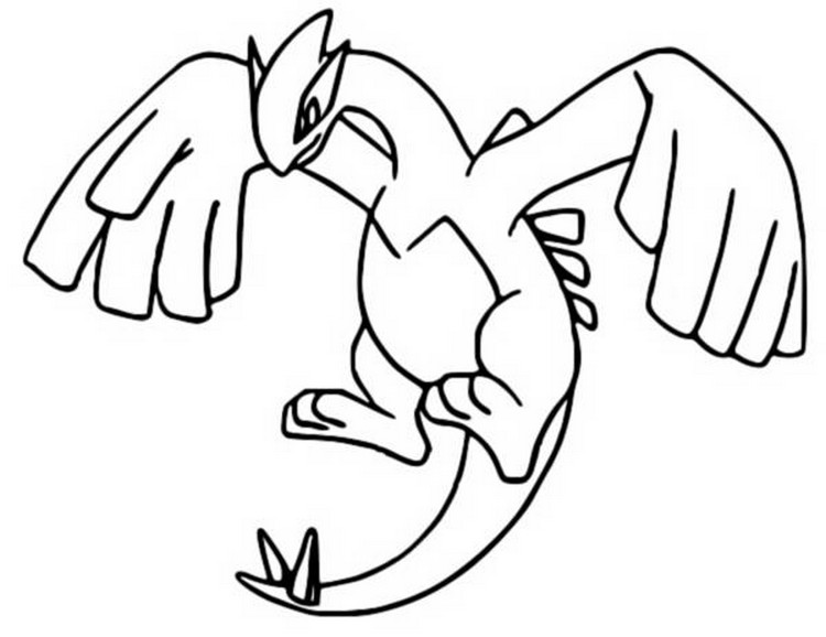 pokemon celebi coloring pages - photo#33