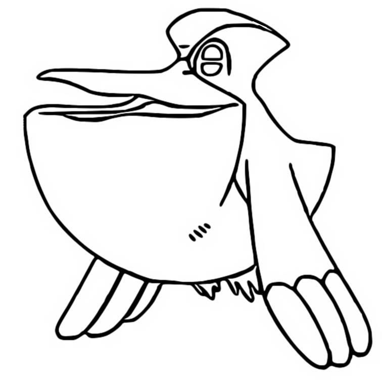 malvorlagen pokemon  pelipper  zeichnungen pokemon