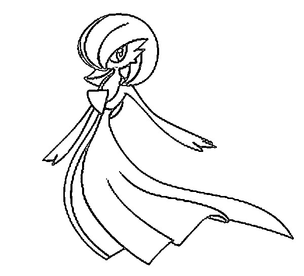 gallade coloring pages - photo#16