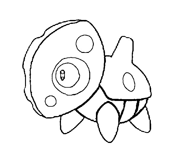 Coloring Pages Pokemon - Aron - Drawings Pokemon