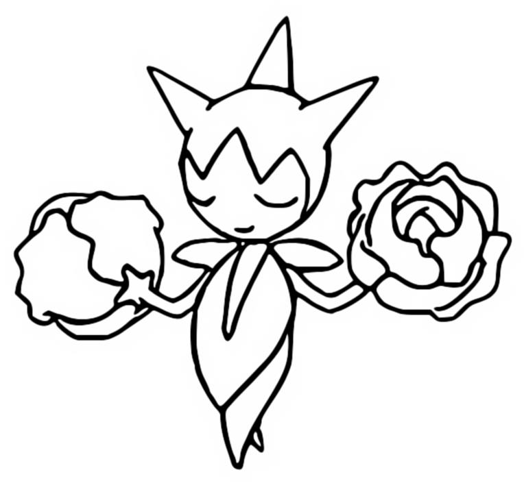 coloring pages absol - photo#28