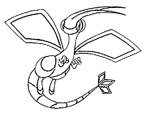 flygon coloring pages - photo#2