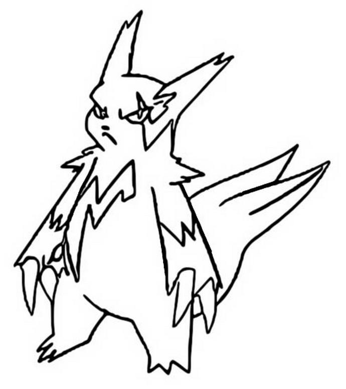 Zangoose Kleurplaat Dibujos Para Colorear Pokemon Zangoose Dibujos Pokemon