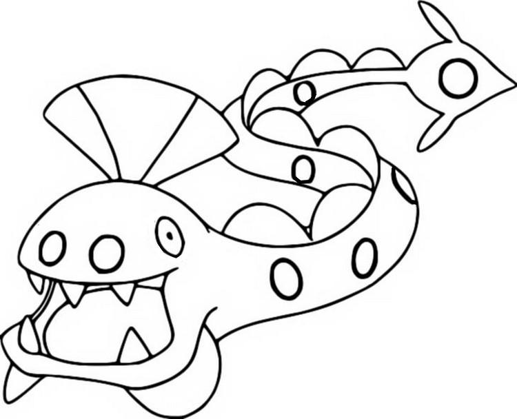 Kangaskhan Pokemon Coloring Page