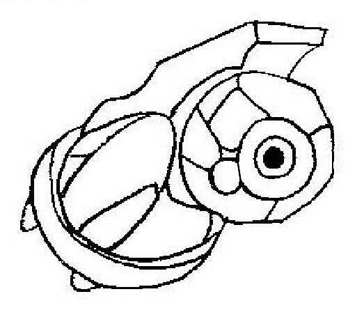 metagross pokemon coloring pages - photo#9