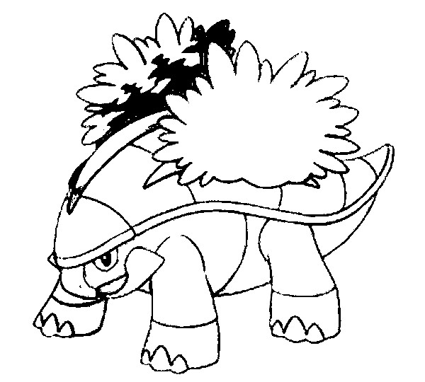 Coloring Pages Pokemon Grotle Drawings Pokemon