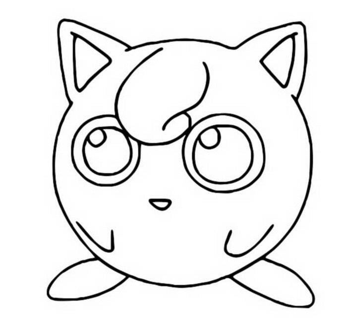 coloring pages jigglypuff drawings