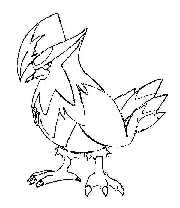 pokemon empoleon coloring pages - photo#33